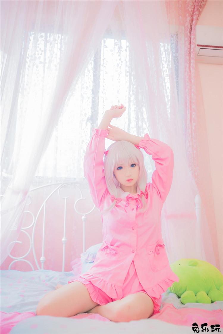 心都被萌化了!木易麦子cosplay可爱呆萌的和泉纱雾是万人心中的女神萌妹!