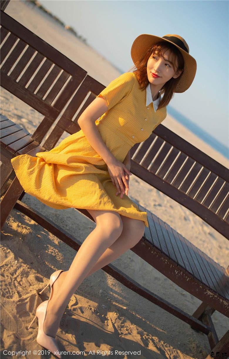陆萱萱(萱萱Cecilia)波斯湾畔海滨女友互动男友视角写真