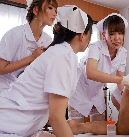 痴女护士波多野结衣把病人当洩欲工具,小穴随便玩!