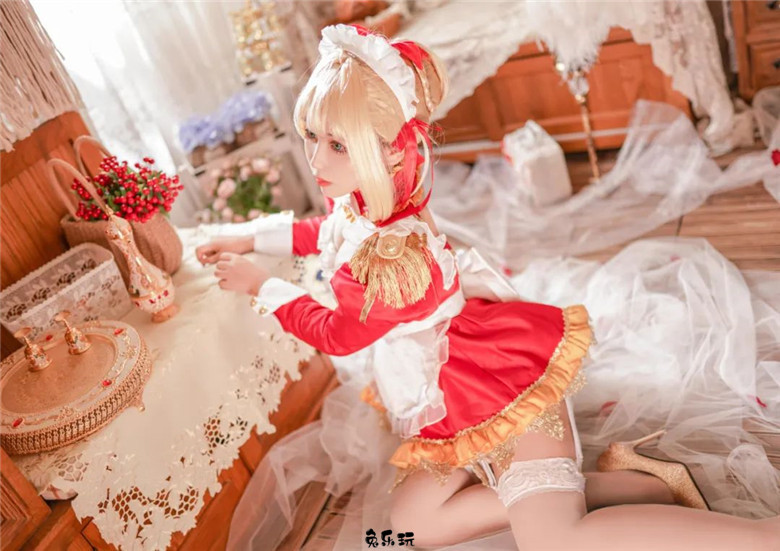 【COS】悠里图包合集精选丨《Fate_Grand Order》尼禄·女仆