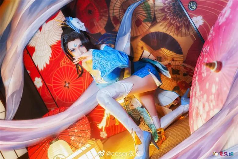 coser衣衣图包合集精选丨王者荣耀·不知火舞·魅语