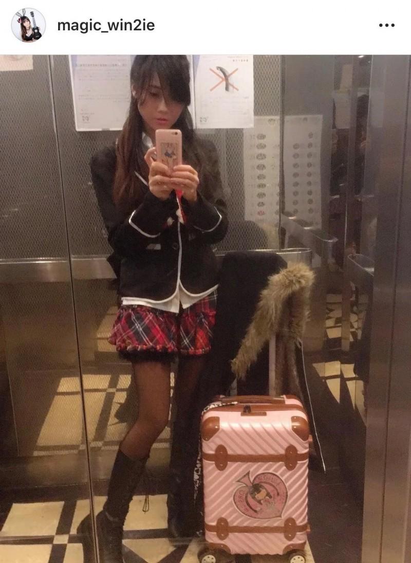 香港女魔术师叶咏妍自慰影片遭外流疯传