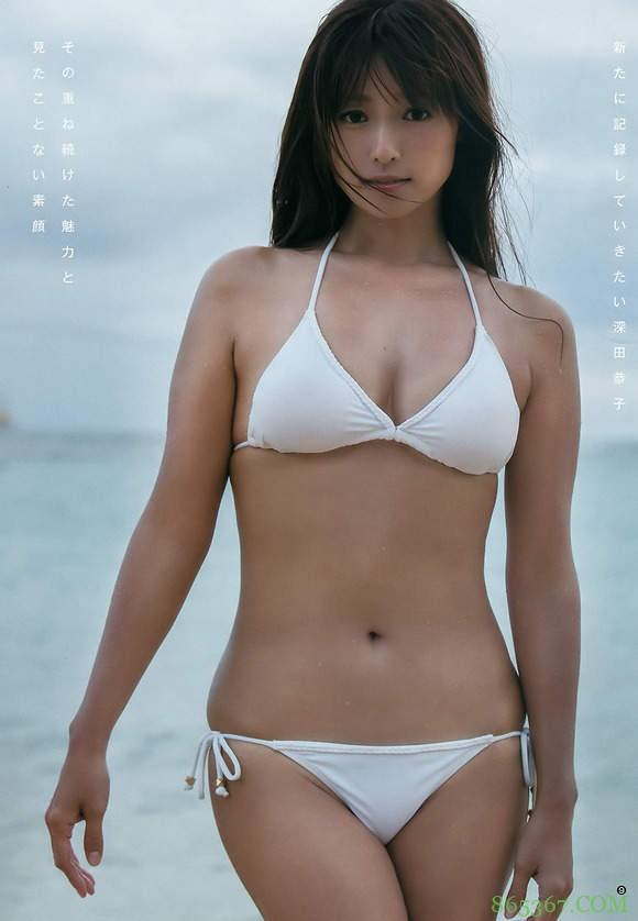 网友评选最受不了的泳装女艺人 深田恭子性感泳装迷倒男人