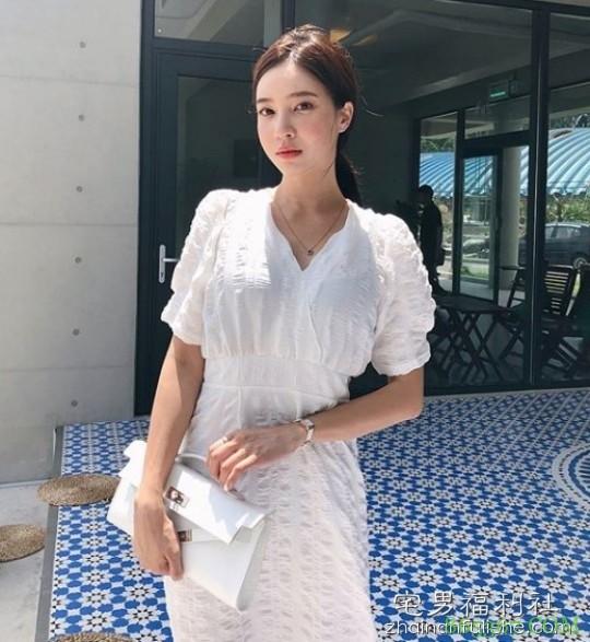 韩国九头身美女강혜연 白皙性感大长腿太撩人