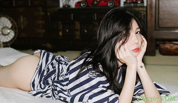 女人下面图片,不要内裤 韩国模特Bebe Kim浴衣诱惑让人想入非非