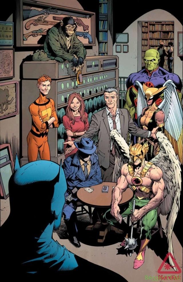 《侦探漫画》第1000期 蝙蝠侠与史酷比合作解决宇宙神祕案件