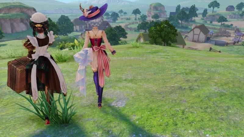 游戏《奈尔克与传说之炼金术士们 ~新大地之炼金工房~》 初代玛莉回归