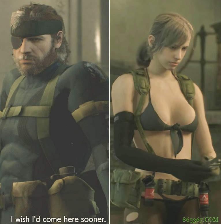 《潜龙谍影5模组》性感女神梦幻登场 画面堪比《恶灵古堡2》重制版