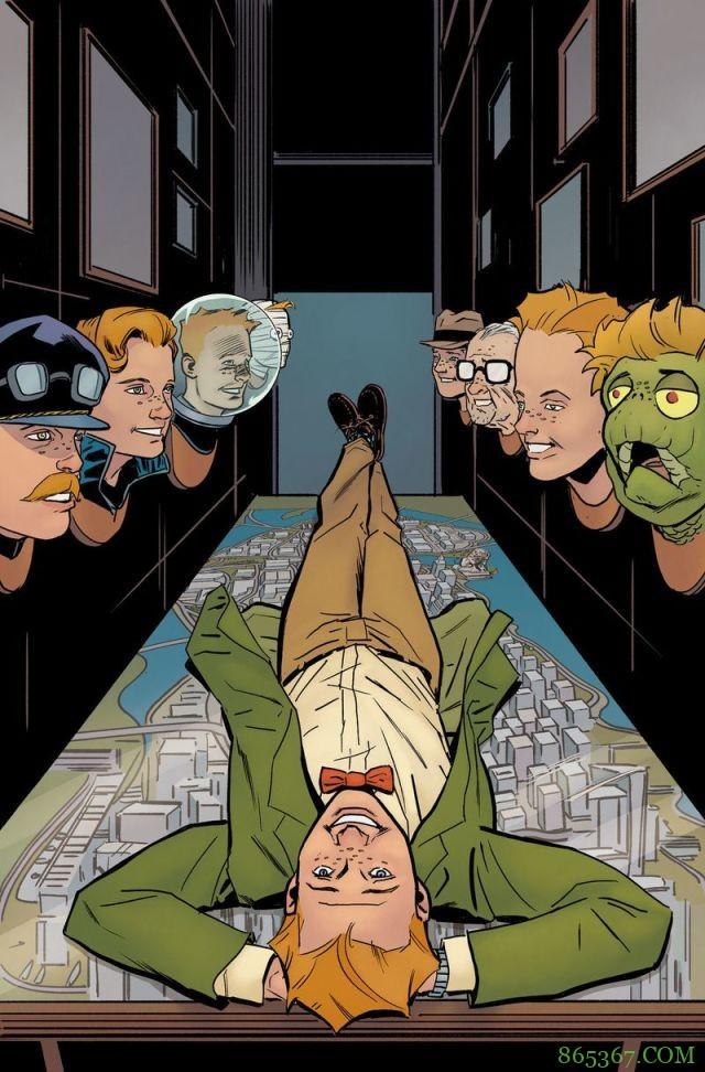 DC记者主题故事漫画7月发行 探讨超级英雄宇宙的新闻正义