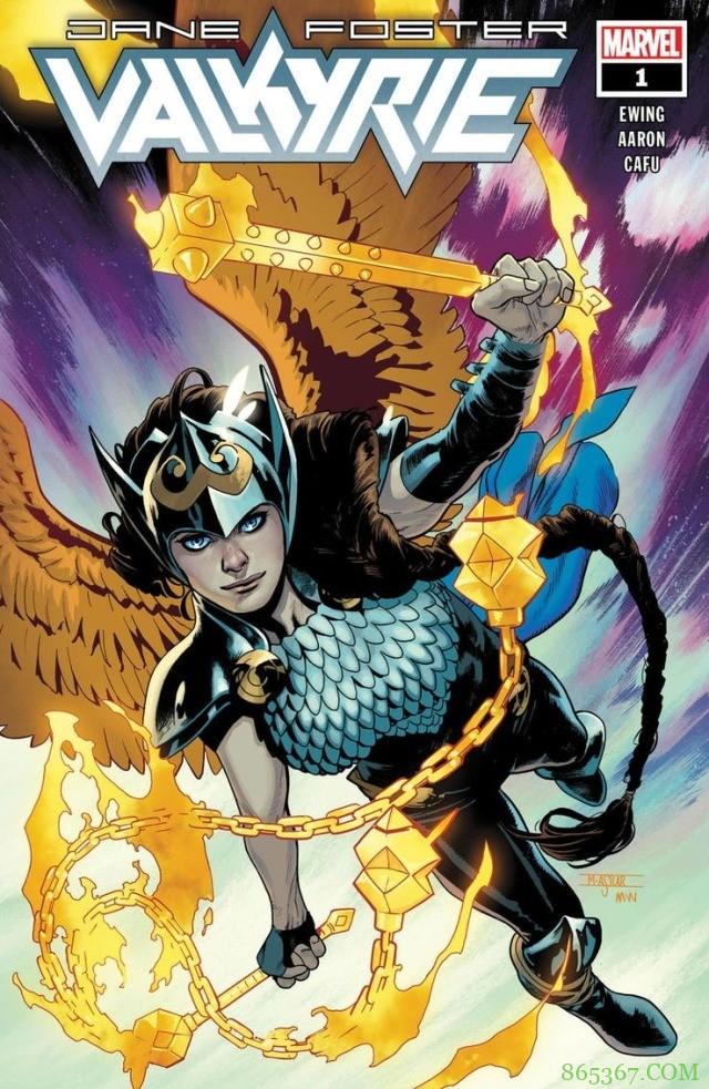 《女武神》7月开始连载 珍‧佛斯特成全新战场女武神