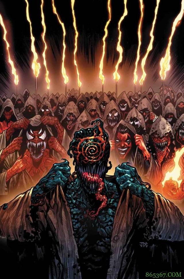 屠杀成立邪教扩展军队 屠杀漫威宇宙超级英雄复活共生体之神