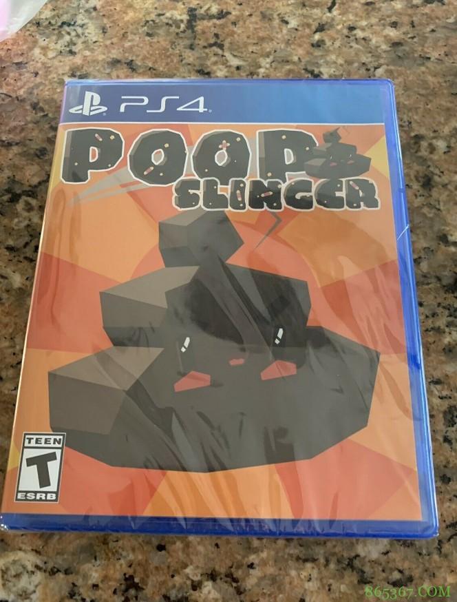 最限量版游戏《Poop Slinger》 美式恶搞游戏意外身价暴涨