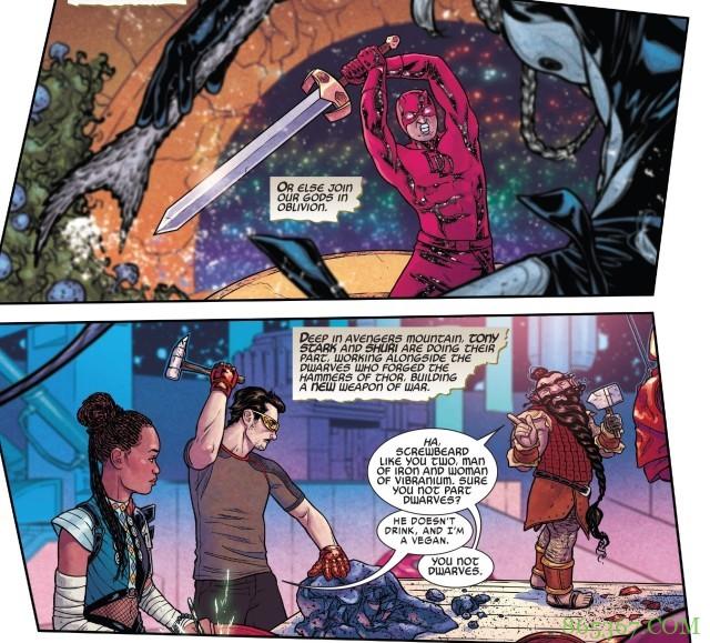《十界之战》第3期分析 姆达尔将自己力量传授给夜魔侠