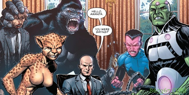 DC漫画《DC恶棍年》连载雷克斯侵占白宫会抛弃私人恩怨
