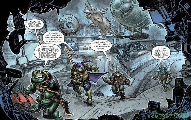 DC宇宙与忍者龟宇宙合作 忍者龟变成罗宾协助蝙蝠侠
