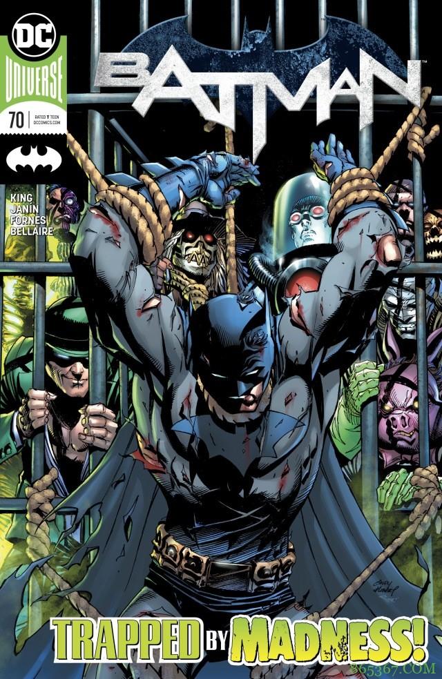 《Batman》第70期 布鲁斯走出难过情绪战胜磷博士