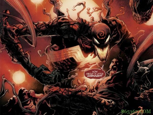 漫威大事件《绝对屠杀》 屠杀伪装艾迪杀害超人类监狱罪犯