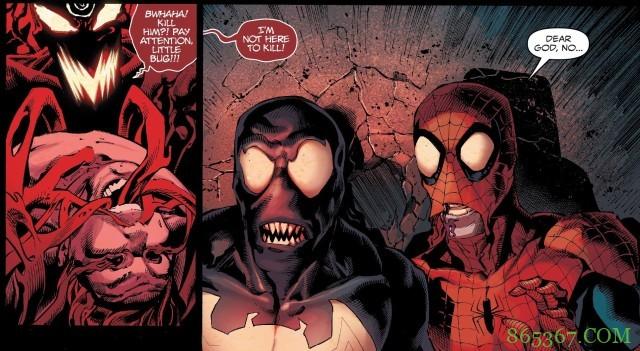 漫威8月大事件《绝对屠杀》 猛毒和蜘蛛再次合作