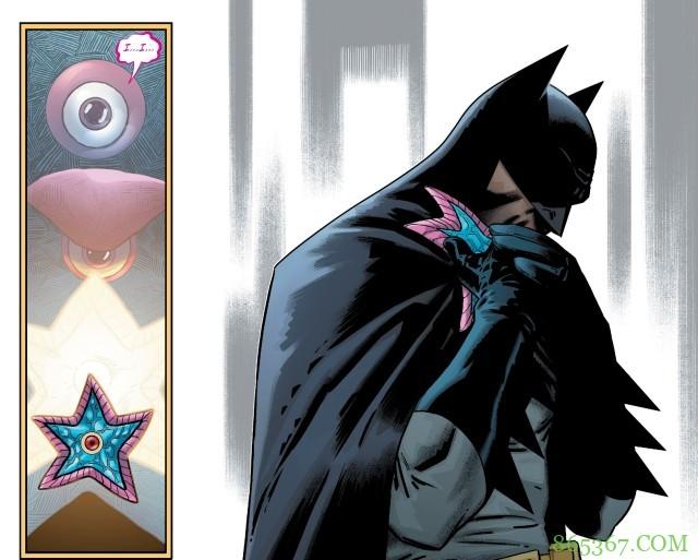 《恶棍年》第29期 蝙蝠侠与新儿子并肩作战