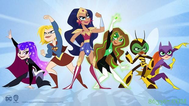 重启版《DC超级英雄少女》 超能力女孩爆笑来袭