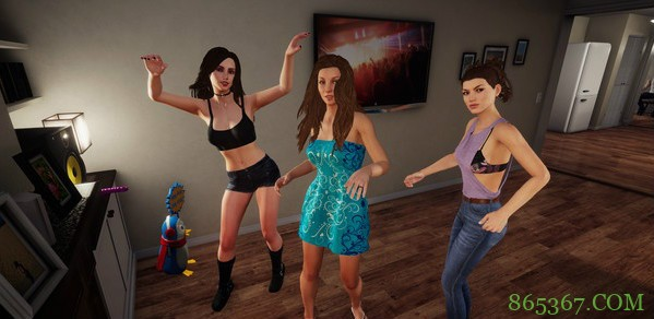 《家庭派对》18禁演出 玩家与性感女神在线打炮