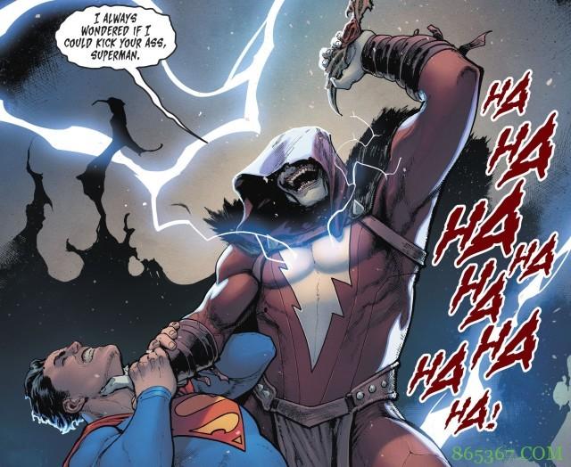 大笑沙赞真实身份 超人与搭档英雄蝙蝠侠面临艰难抉择