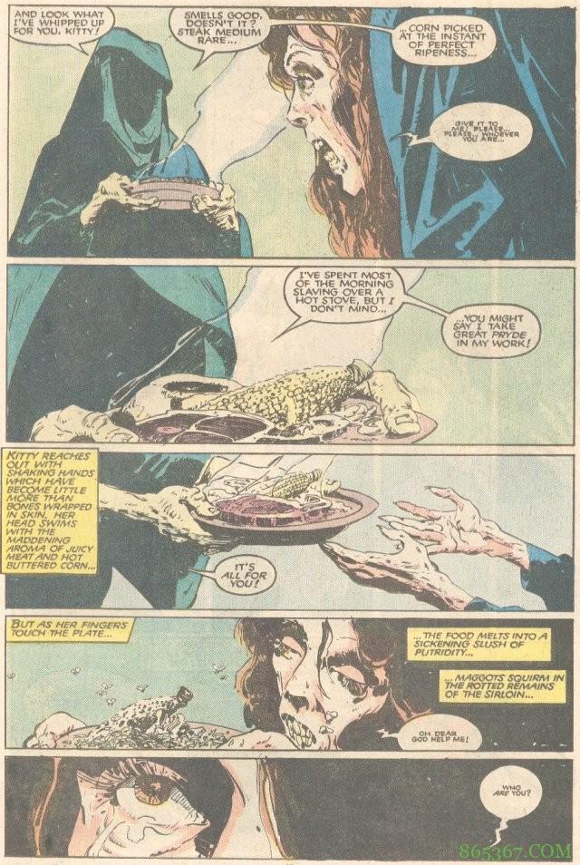 """恐怖漫画角色""""饥饿"""" 古代变种人以负面情绪为食"""