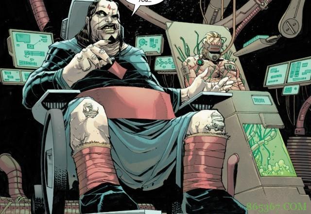 《死人罗根》第十一期 老人罗根带领正史宇宙英雄战胜红骷髅