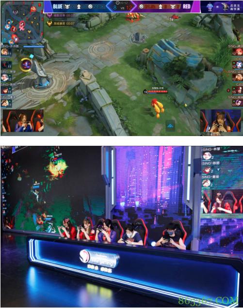 QQ名人赛5G先锋赛场落幕 极致赛事体验引发玩家喝彩