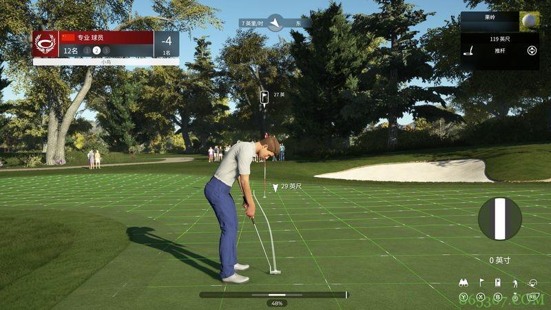 《PGA TOUR 2K21》试玩报告 挥出第一杆后就停不下来了