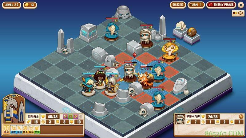 《尼罗河勇士》评测:小棋盘上的无穷世界