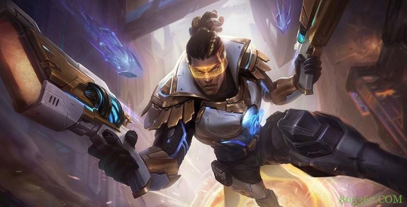 最新版本10.16卢锡安 增强后力压敌方英雄