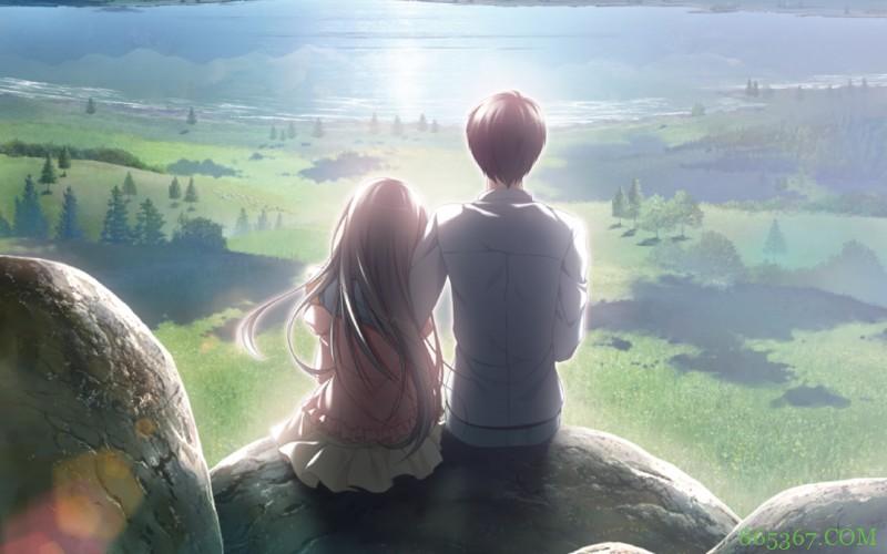恋爱冒险游戏《eden*》 世界末日到来也要和她在一起