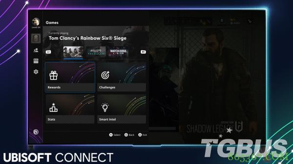育碧推出Ubisoft Connect新时代跨平台界面 新型游玩提升玩家体验