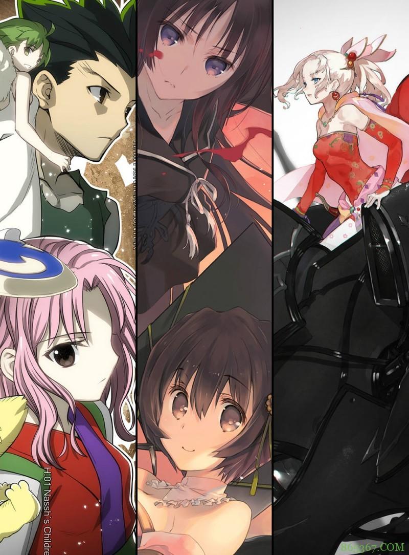 《平成同人物语》概念图 日本近30年动漫发展回顾