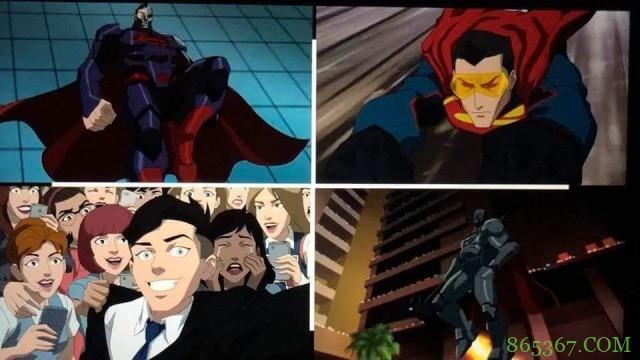 DC最新动画电影《超人王朝》 神祕生化超人与达克赛达合作