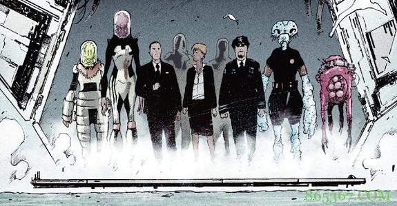 外星人漫画《地球港》 外星人能与人类和谐合作吗