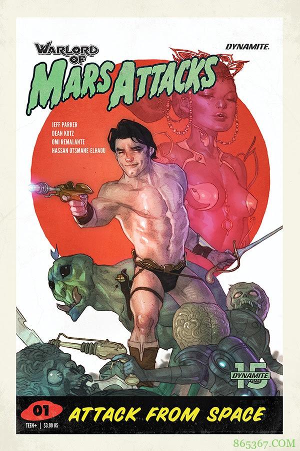 最新漫画《星战毁灭者》 火星人挑战超级英雄始祖
