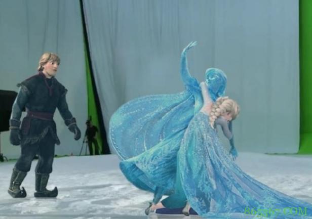 冰雪奇缘被人恶搞,取下口罩的艾莎太搞笑,戴上墨镜像女王