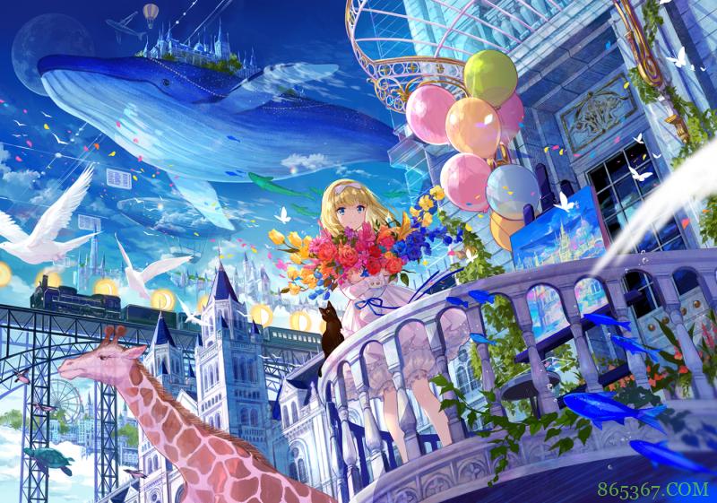 日本画师藤原宣布结婚,她的作品你多半见过,颜色太漂亮了