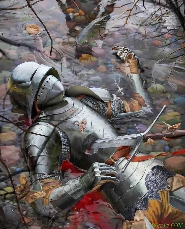 十一张中世纪背景插画图片 手绘插画再现经典