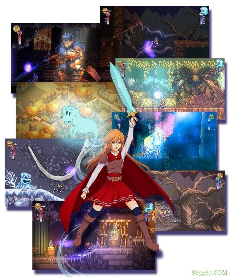 好玩的动作游戏《Battle Princess Madelyn》 游戏背后的故事令游戏宅羡慕