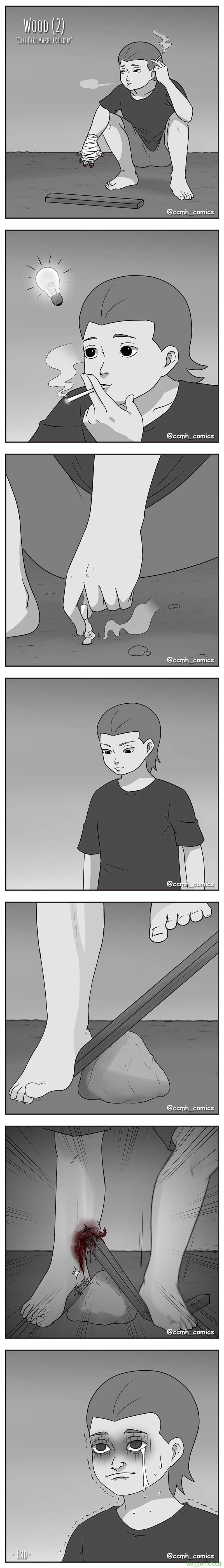 """无声漫画""""每日意外"""" 看完""""恐怖感""""漫画宛如身临其境"""