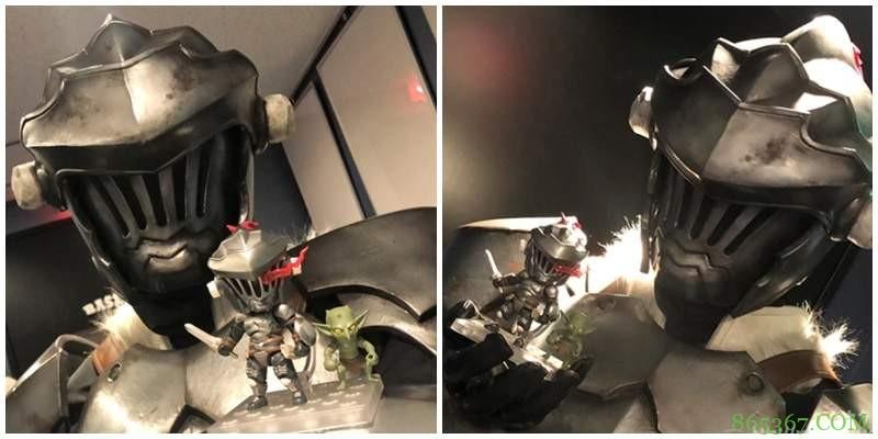 《哥布林杀手》黏土人模型 哥布林杀手黏土模式帅气十足