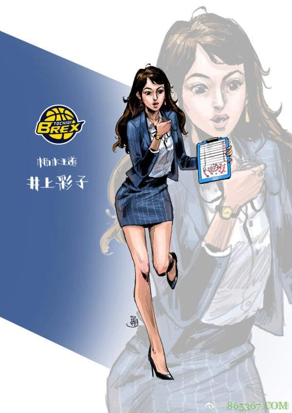 《灌篮高手》动漫人物10年后是什么样 网友手绘10年后灌篮高手角色