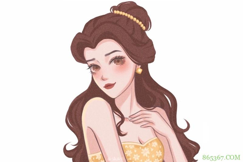 迪士尼公主都换上泳装了!木兰的看着像打底装,灰姑娘回眸一笑