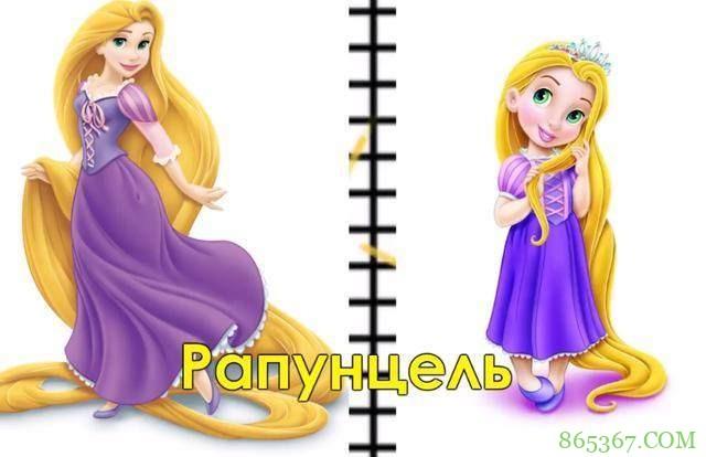 画师分享迪士尼公主小时候的样子,花木兰很活泼,灰姑娘人小鬼大