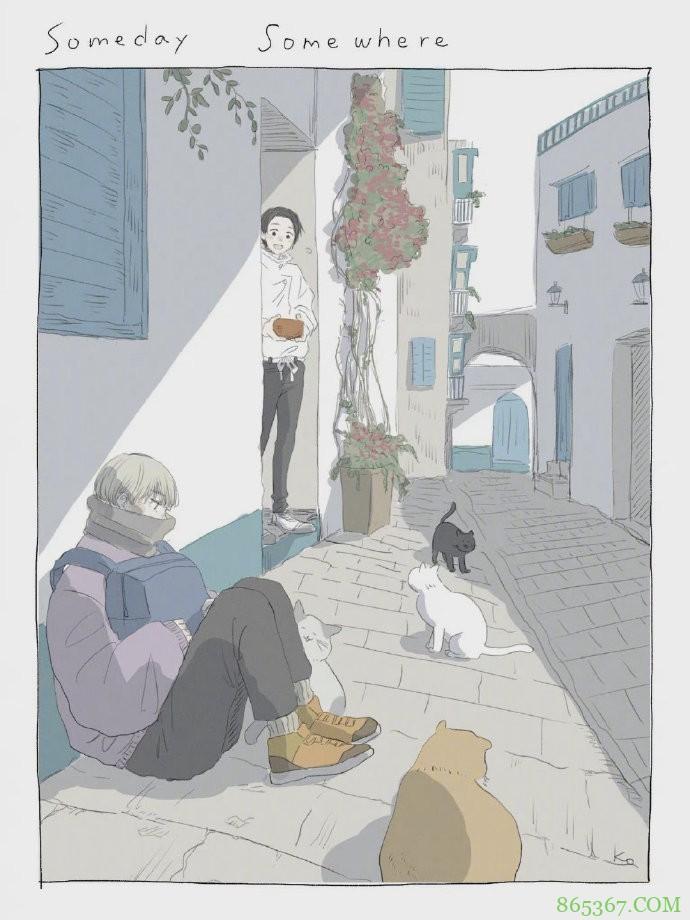 咒术回战:画师绘制狗卷前辈的日常生活,如果有这样的番外太棒了