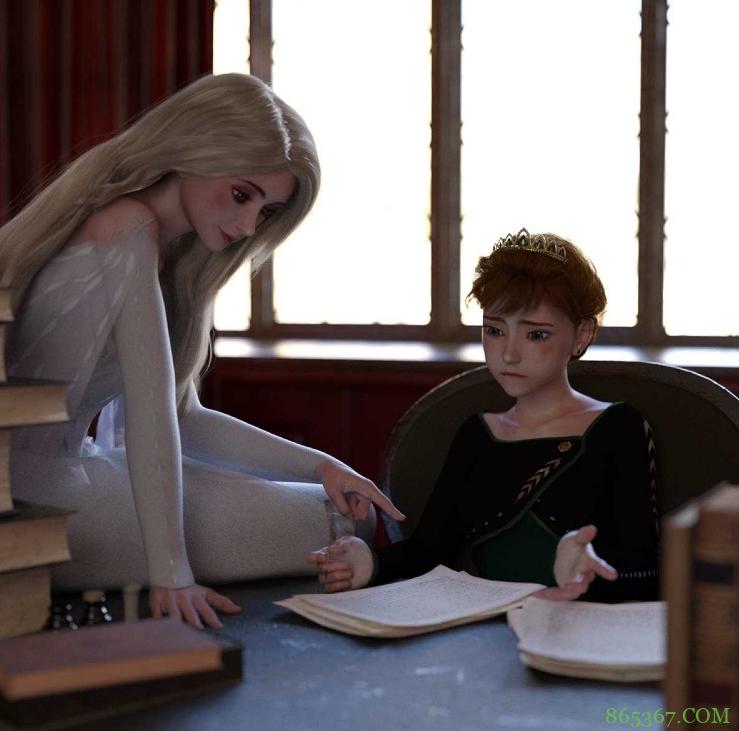 国外大佬创作超酷版艾莎女王,不仅姐姐帅,安娜也超帅的