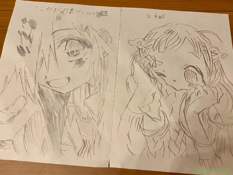 画了一拳超人的漫画家晒完女儿又晒儿子,两个娃都挺有绘画天赋